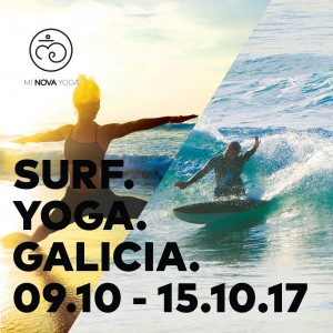 Stage yoga surf