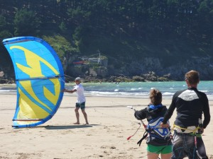 kite-surf-lesson-galice-nord-espagne